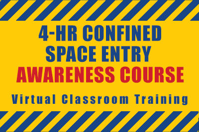 4hr confined space entry awareness course